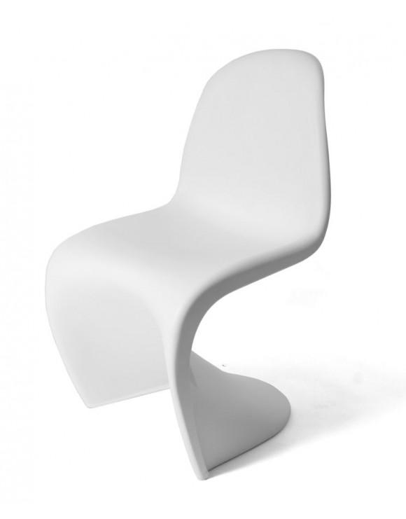 Chaises verner panton affordable paire de chaises verner for Chaise panton