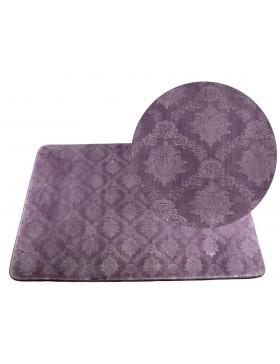 Tapis classique violet