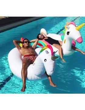 Matelas gonflable licorne