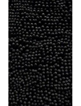 Tapis chenille-noir