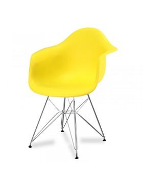Chaise de salon 211AB pieds en métal