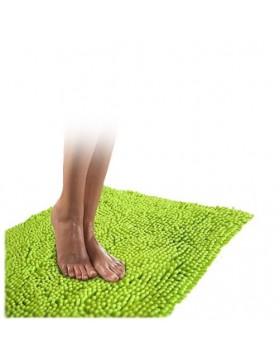 Tapis chenille-vert